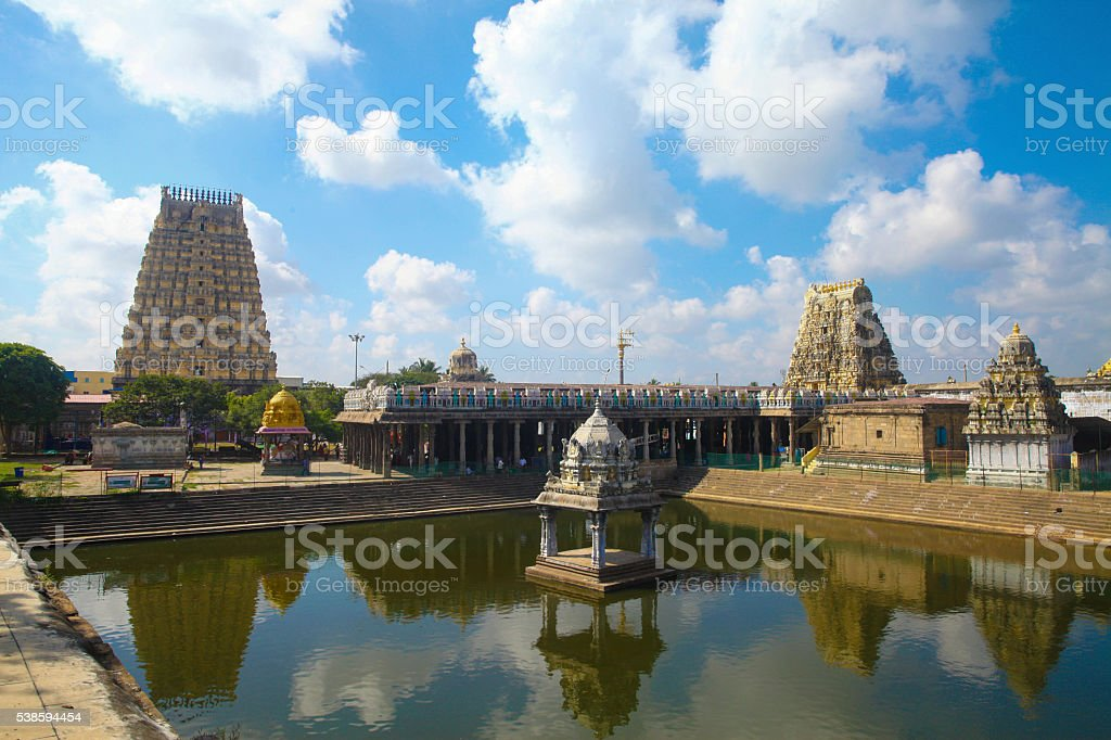Kanchipuram Sri Ekambarareswarar Temple stock photo