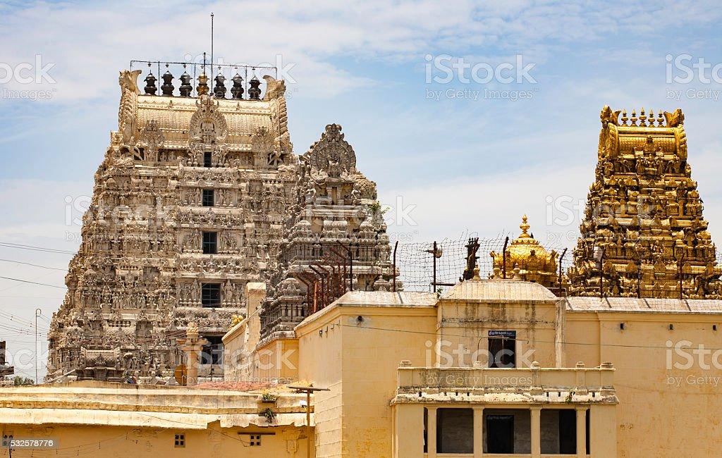Kanchipuram Temples stock photo