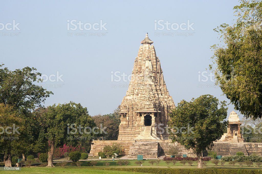 Kandariya Mahadeva Temple. Khajuraho. royalty-free stock photo
