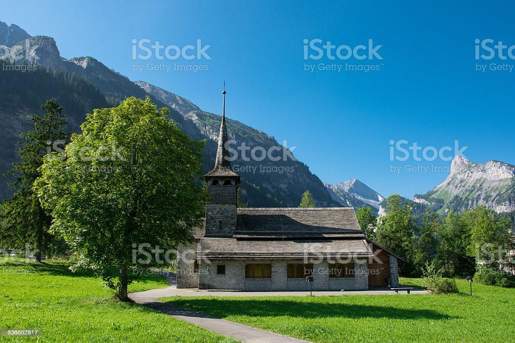 Kandersteg, Switzerland stock photo
