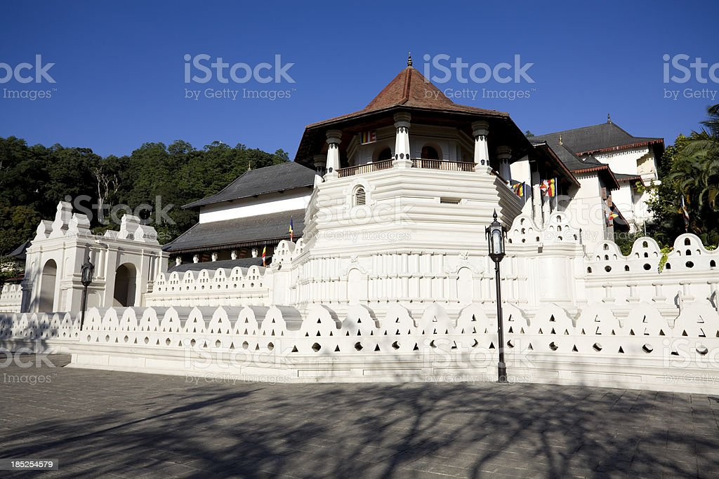 Kandy Sri Lanka Dalada Maligawa stock photo