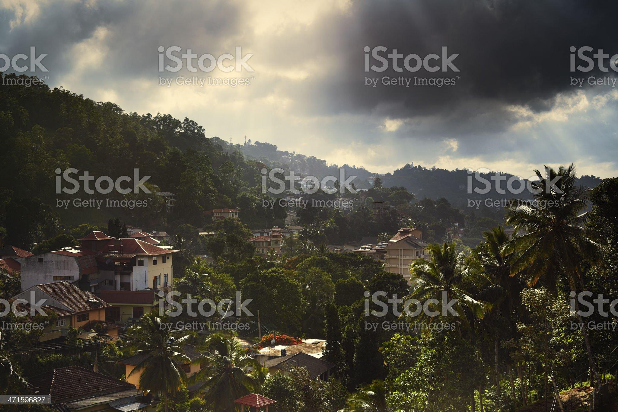 Kandy, Sri Lanka. royalty-free stock photo