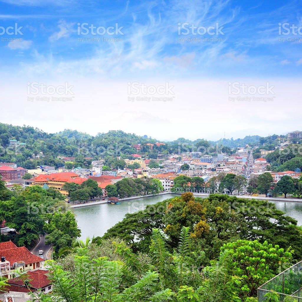 Kandy, Sri Lanka stock photo