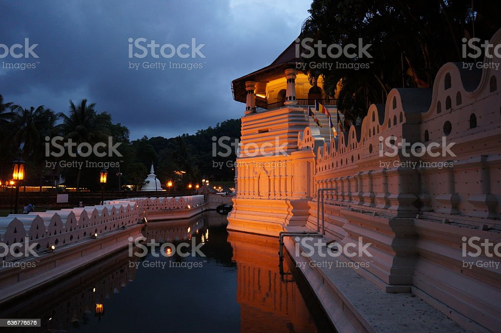 Kandy Temple stock photo