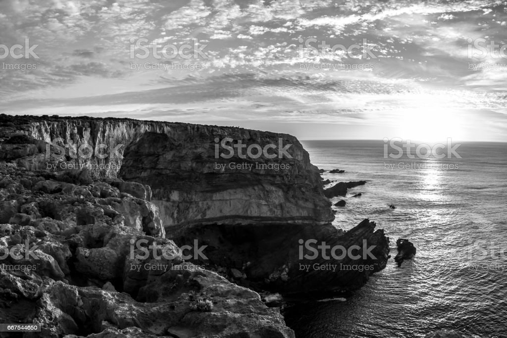 Kangaroo Island coastline, South Australia. stock photo