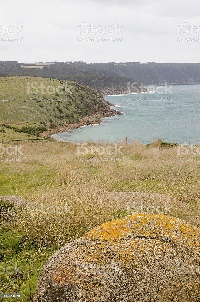 Kangaroo Island Landscape stock photo