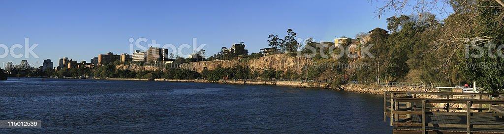 Kangaroo Point stock photo