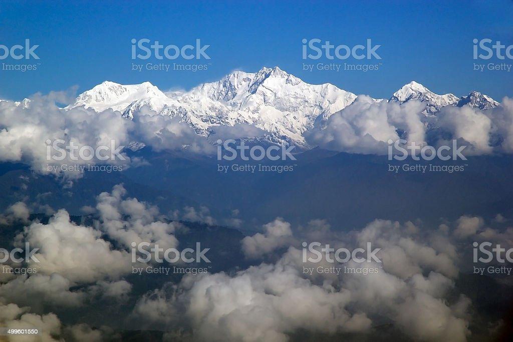 Kangchenjunga, Sikkim, India stock photo