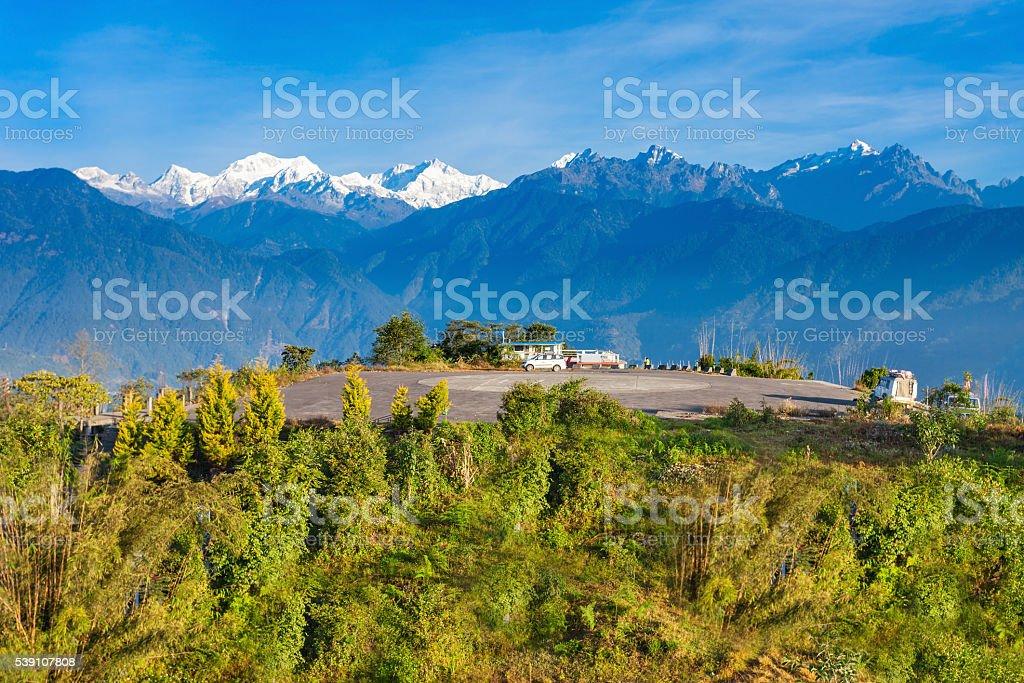 Kangchenjunga viewpoint, Pelling stock photo