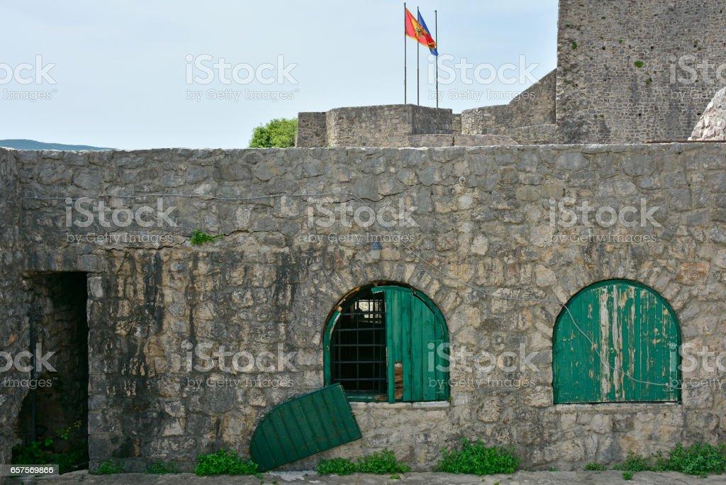 Kanli Kula Fortress stock photo