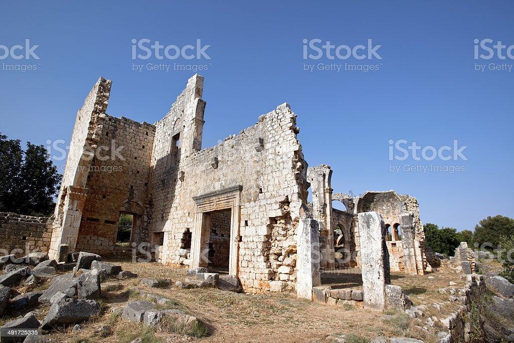 Kanlidivane. The Roman period, the place of human sacrifice stock photo