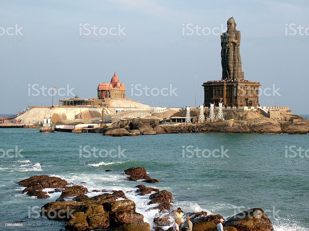 Kanniyakumari stock photo