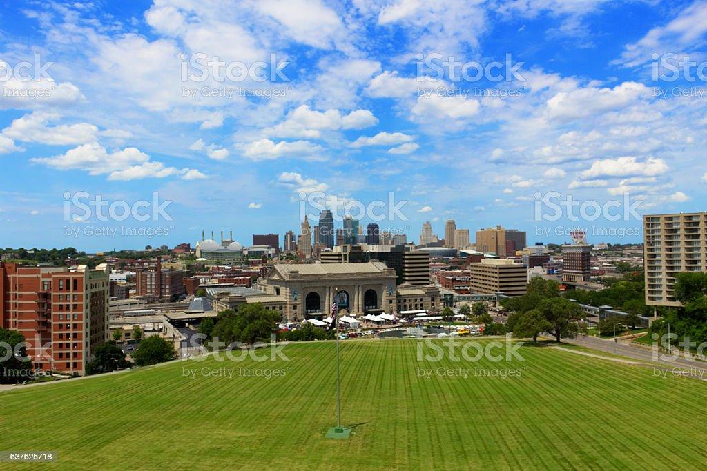 Kansas City Downtown stock photo