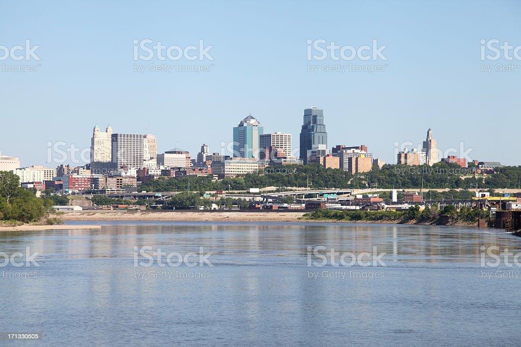 Kansas City Missouri royalty-free stock photo