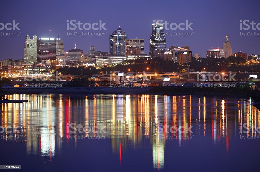 Kansas City, Missouri stock photo