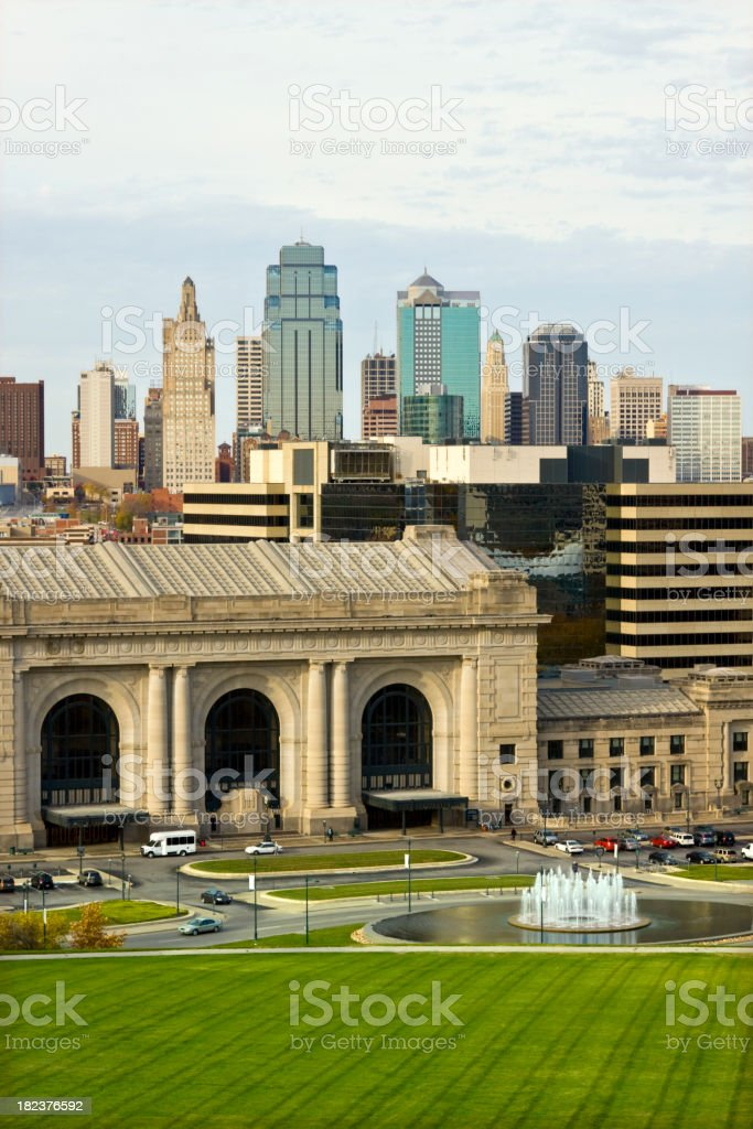 Kansas City, Missouri royalty-free stock photo