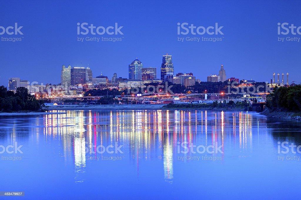 Kansas City, Missouri stock photo