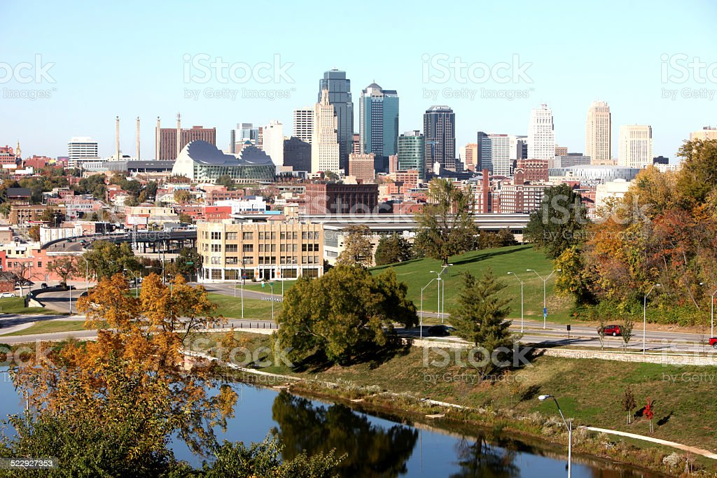Kansas City Missouri stock photo
