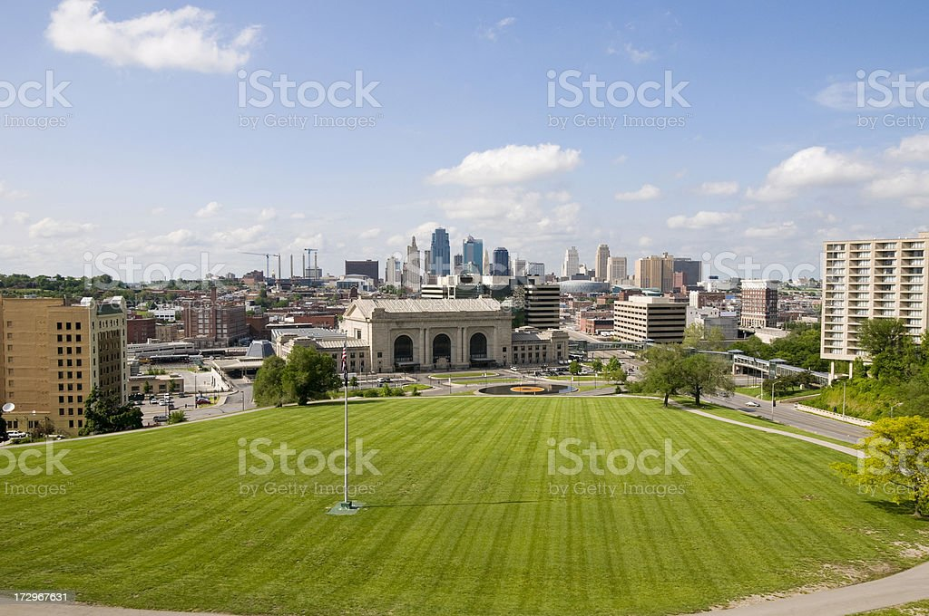 Kansas City royalty-free stock photo