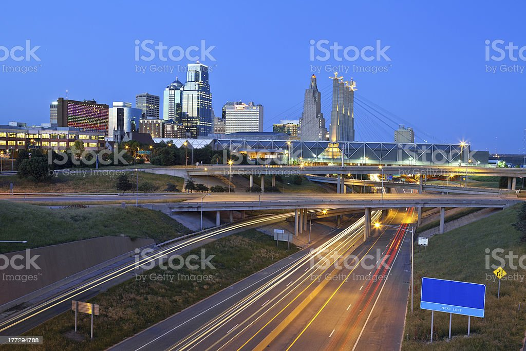 Kansas City. stock photo