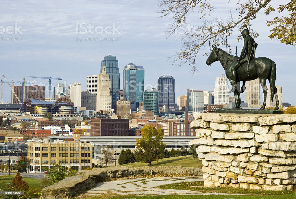 Kansas City Scout stock photo