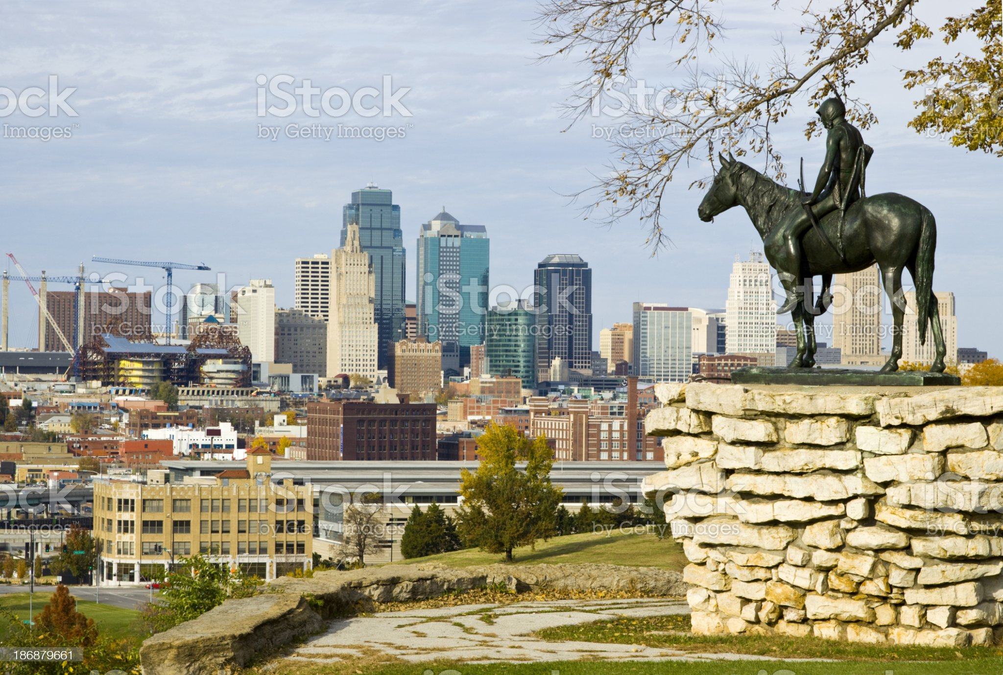 Kansas City Scout royalty-free stock photo
