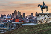 Kansas City Scout with View Of Kansas City, Missouri