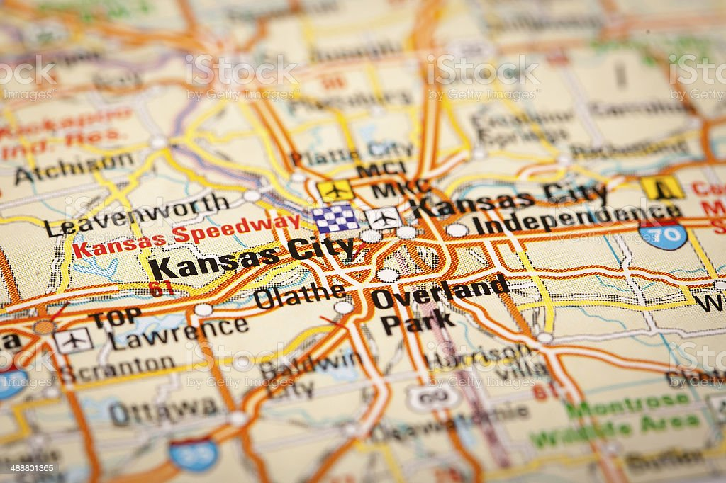 Kansas City, USA stock photo