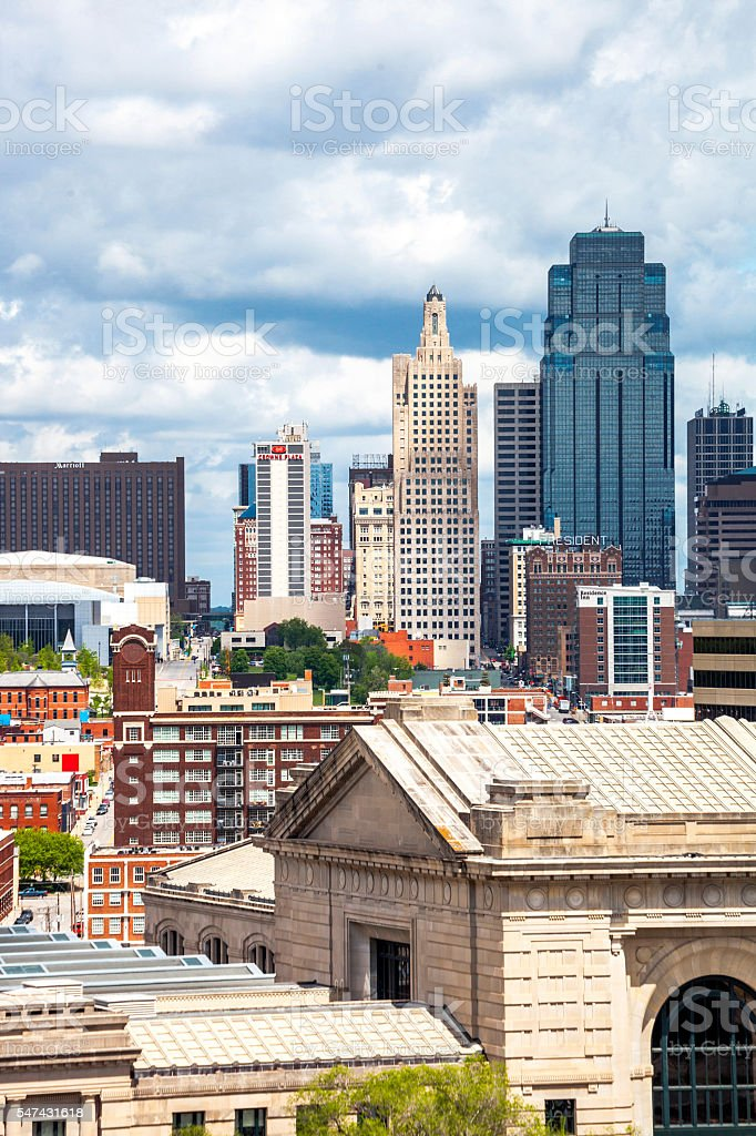 Kansas City view. stock photo