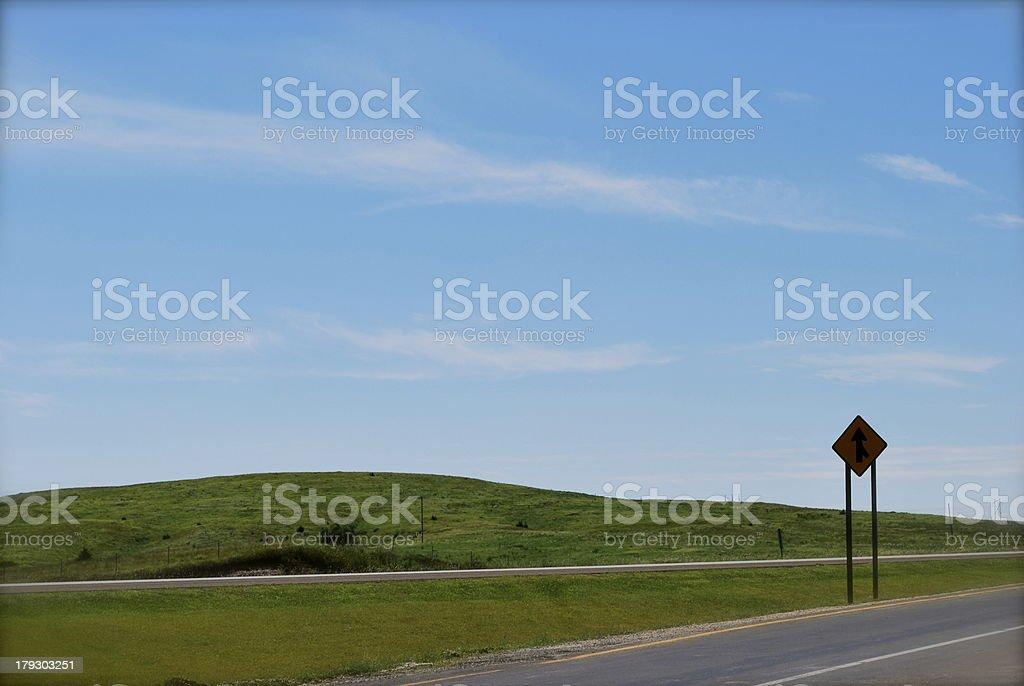 kansas turnpike stock photo