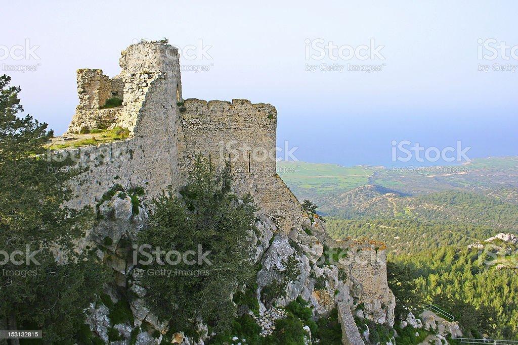 Kantara castle royalty-free stock photo