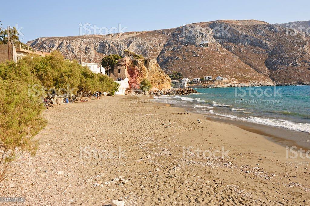 Kantouni beach royalty-free stock photo