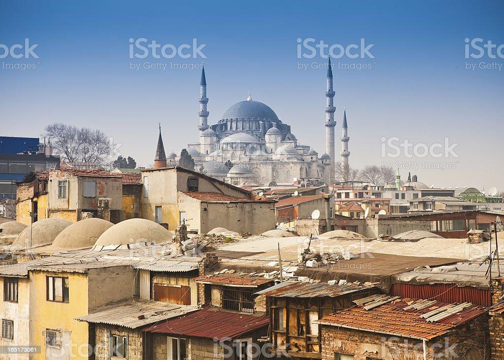 Kanuni Sultan Suleyman Turbesi in Istanbul, Turkey. royalty-free stock photo