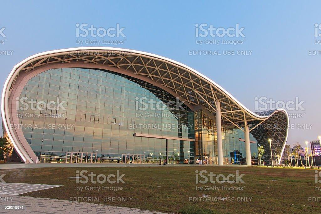 Kaohsiung Exhibition Center stock photo