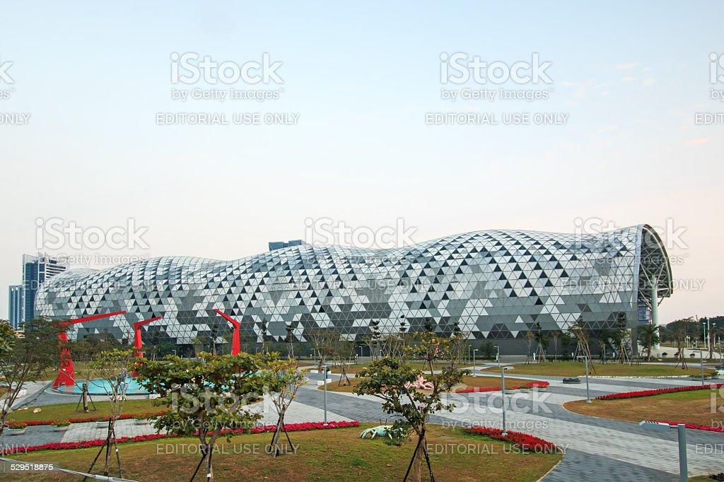 Kaohsiung Exhibition Center. stock photo