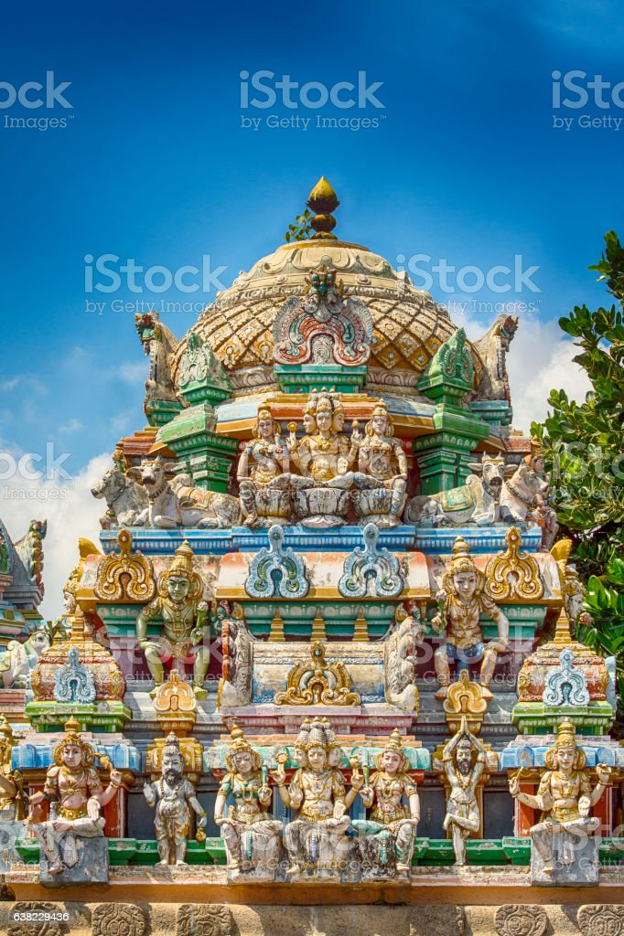 Kapaleeswarar Hindu Temple, Chennai (Madras),  India stock photo