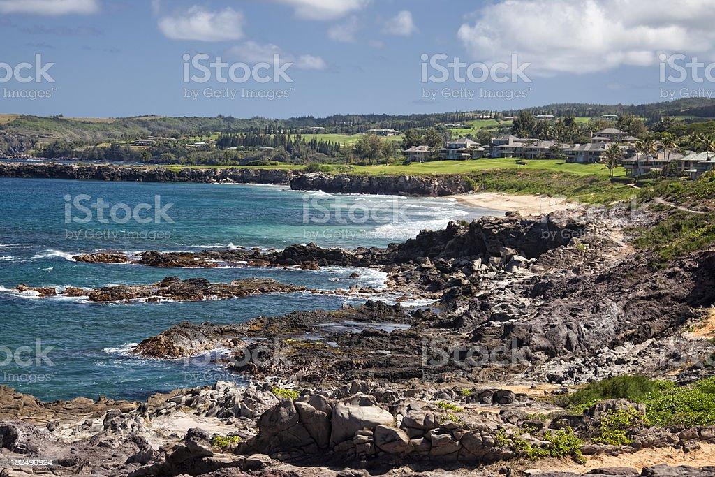 Kapalua Maui Landscape stock photo