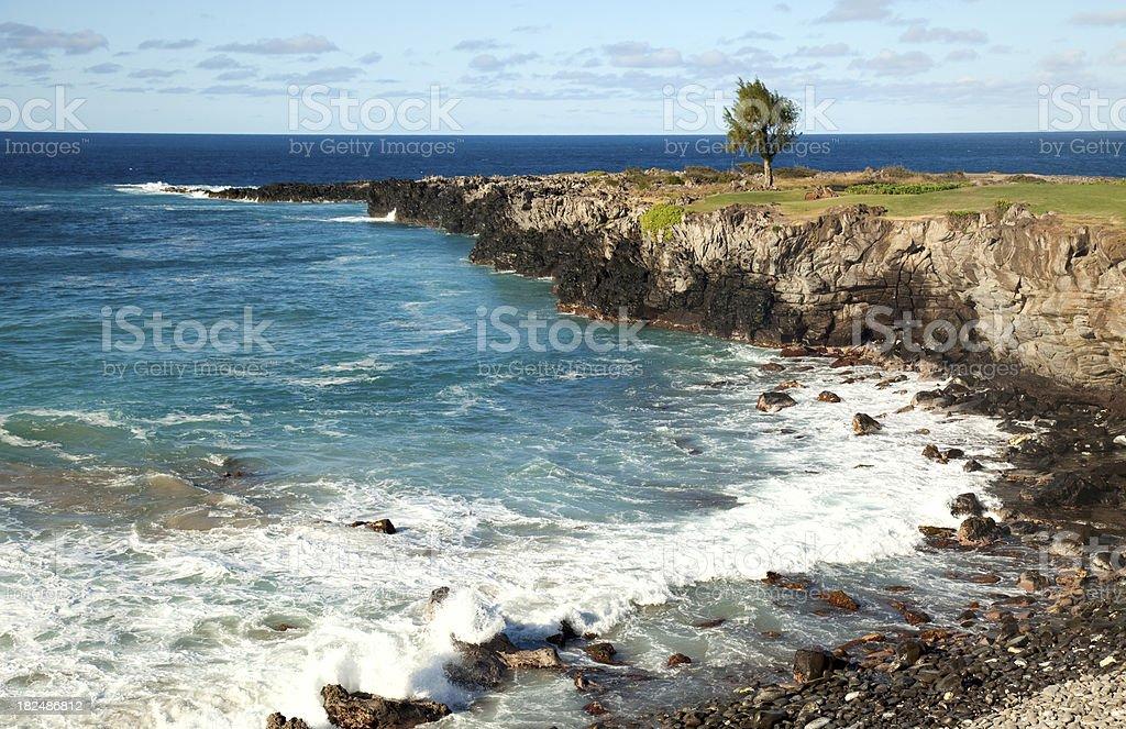 Kapalua Ocean Cliff stock photo