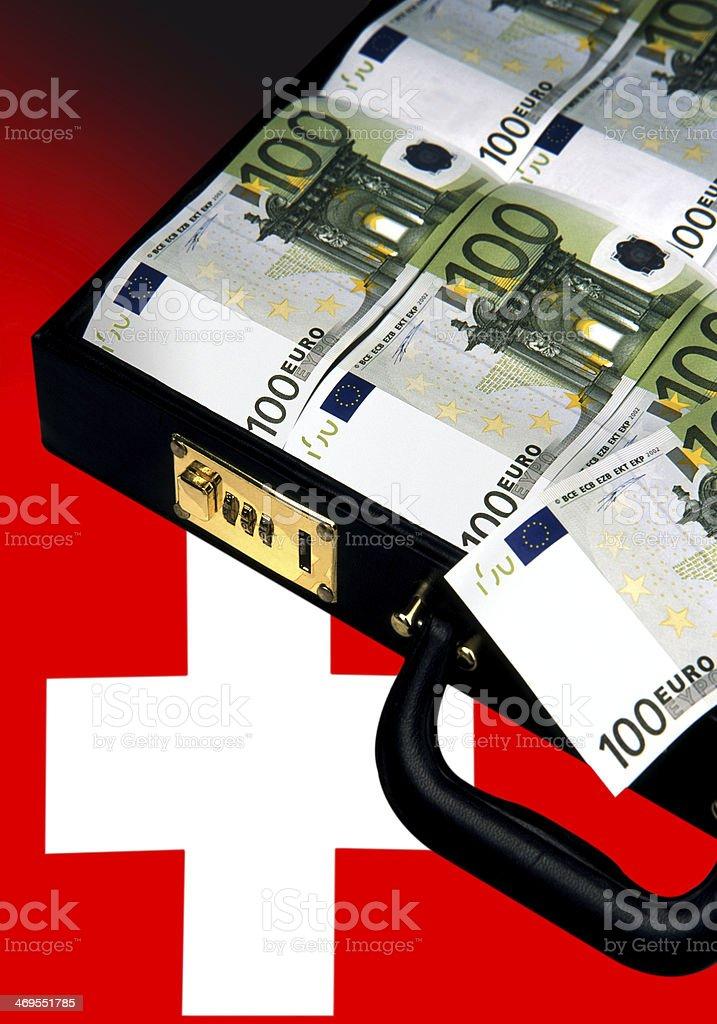 Kapitalflucht stock photo