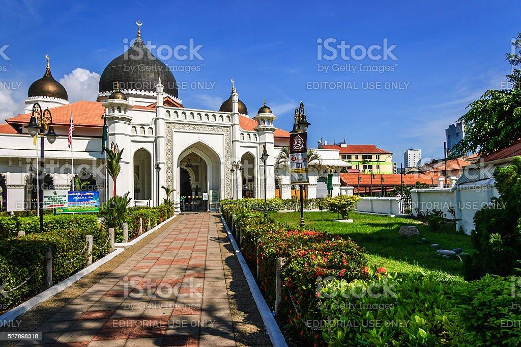 Kapitan Keling Mosque, George Town, Penang, Malaysia stock photo