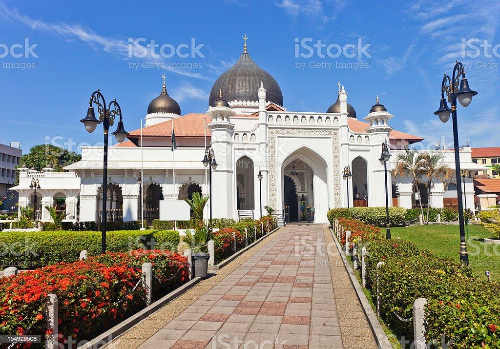 Kapitan Keling Mosque In Georgetown, Malaysia stock photo