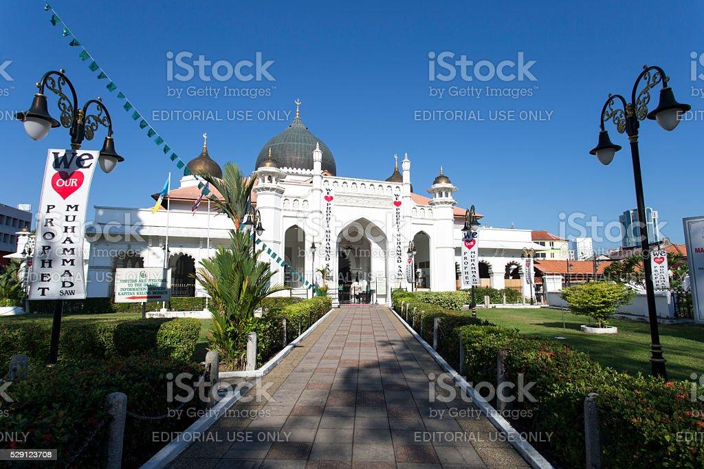 Kapitan Keling Mosque Penang stock photo