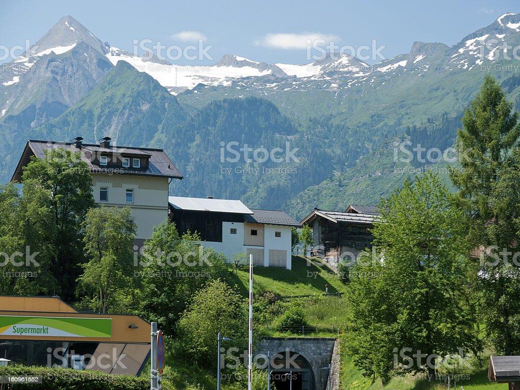 Kaprun, Austria royalty-free stock photo