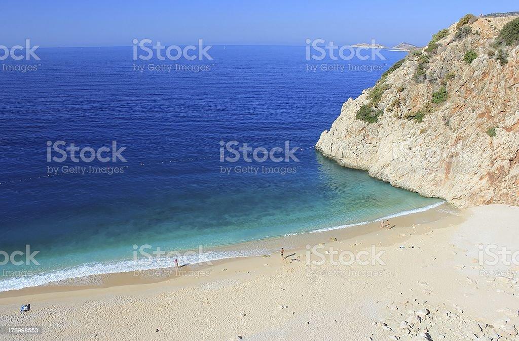 Kaputas Beach in Kas. stock photo