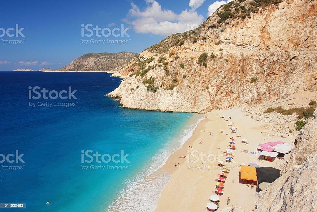 Kaputas Beach, Turkey stock photo