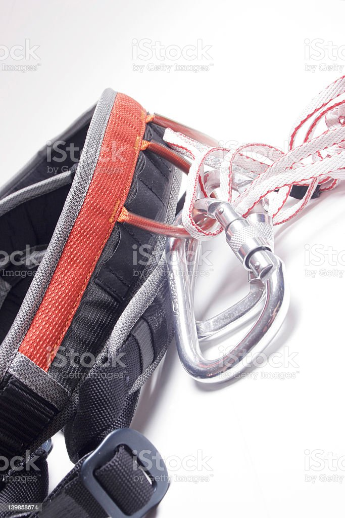 Karab, slings and harness royalty-free stock photo