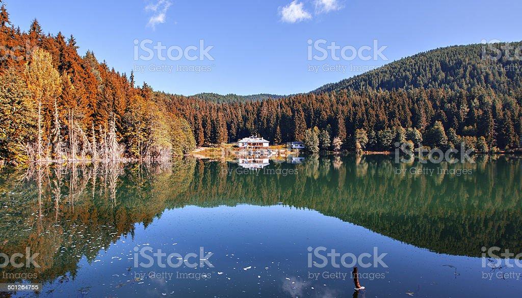 Karagol, Borcka Lake stock photo