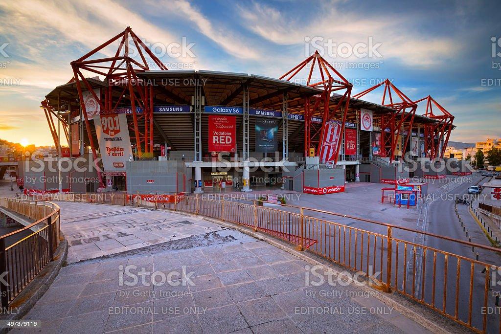 Karaiskakis stadium. stock photo