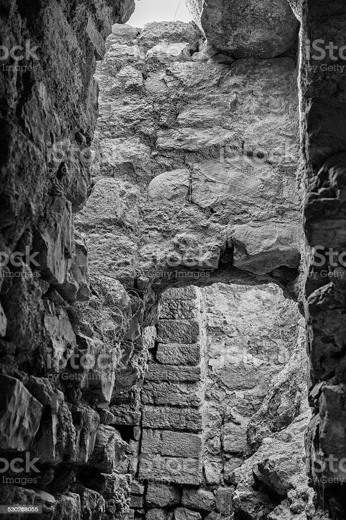 Karak Castle Archway stock photo