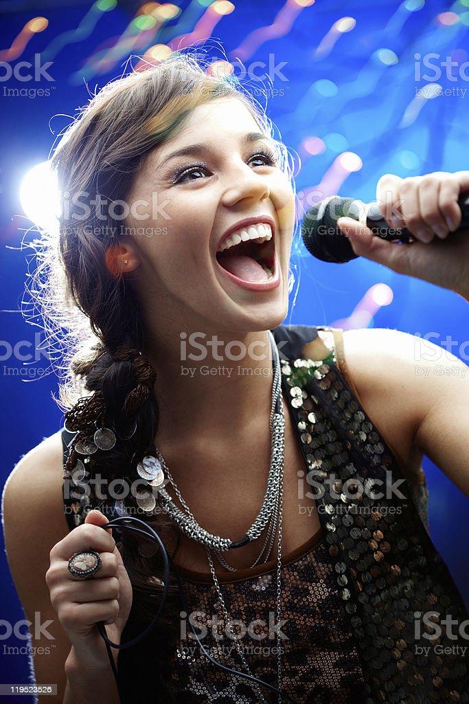 Karaoke stock photo